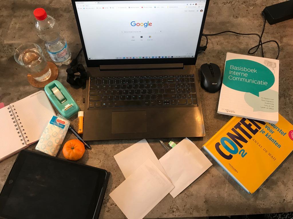 Huiswerkbegeleiding Achterhoek, bijles, plannen, cursus leren leren, blog, studeren in coronatijd, studeren in corona, thuis studeren, werkplek, tips